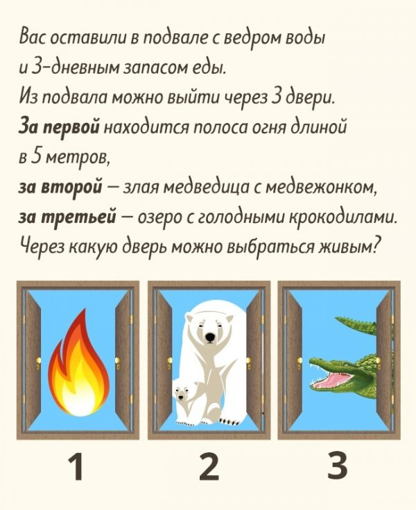 5 загадок, которые сможет отгадать не каждый