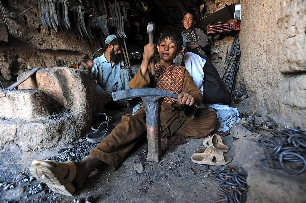 Афганистан - наши дни...