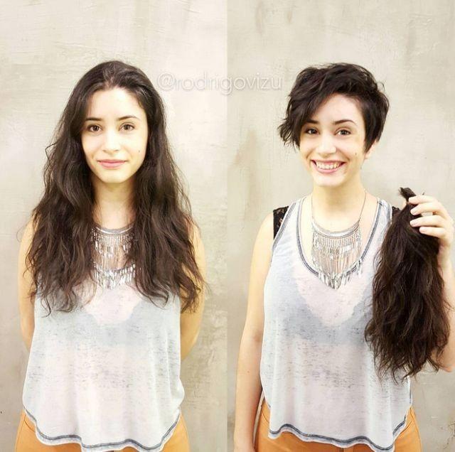 Невероятное преображение! Остригла длинные волосы! ДО и ПОСЛЕ!