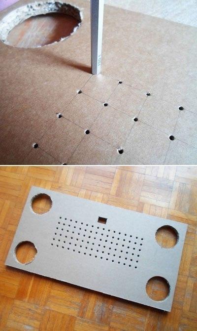 Делаем из картона полезное приспособление для ноутбука