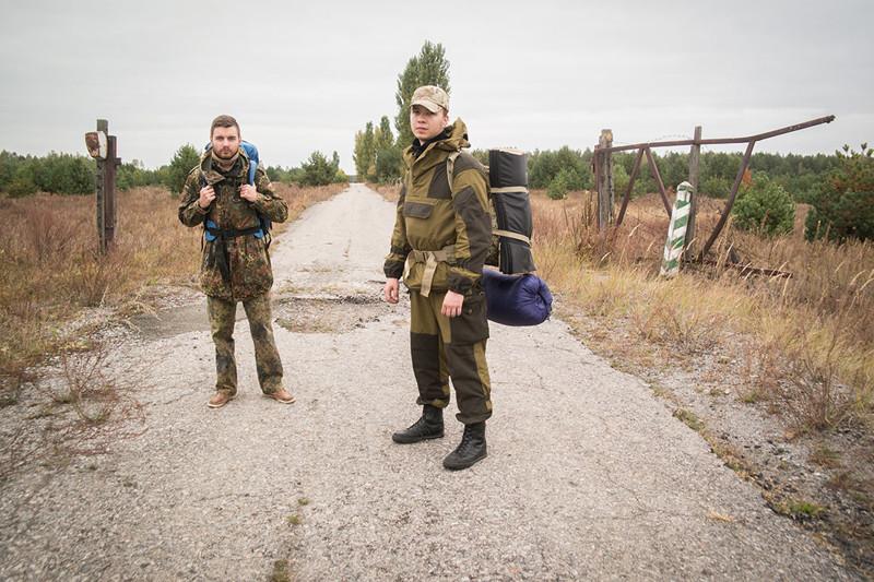 Фотографии, сделанные сталкерами, которые нелегально заночевали в Чернобыле