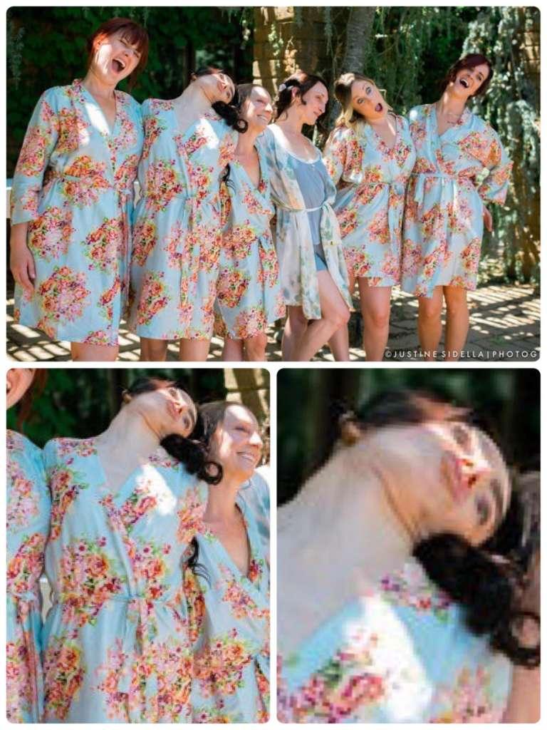 Подружка невесты перестаралась, изображая глупое лицо на фотосессии. Теперь думают, что она одержима