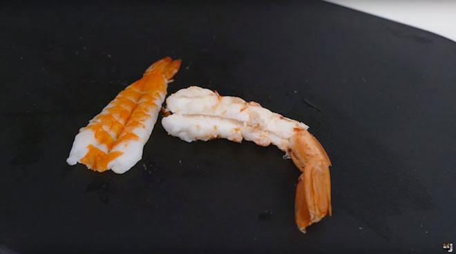 Готовим суши в виде реалистичных рыбок