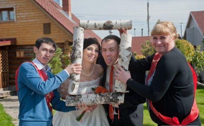 Свадебные фотографии, которых стыдятся