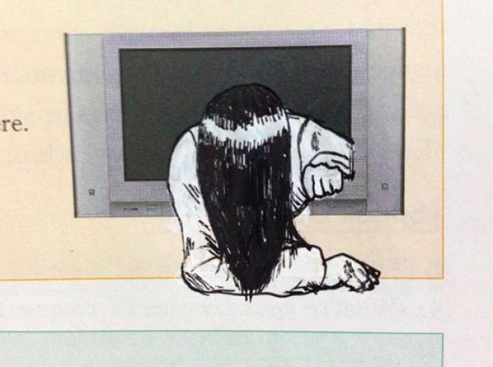 Рисунки в учебниках, которые заставят вас посмеяться от души