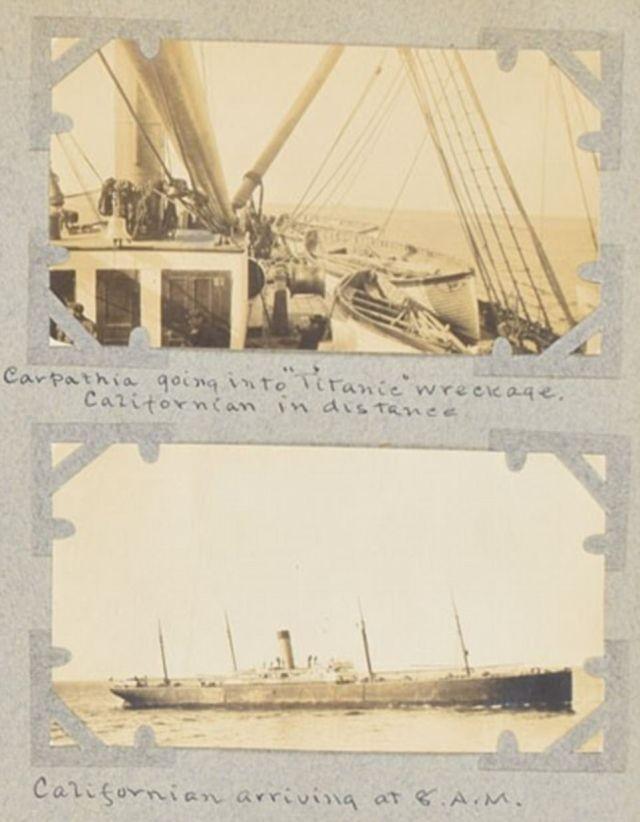 Редкие кадры спасения с Титаника