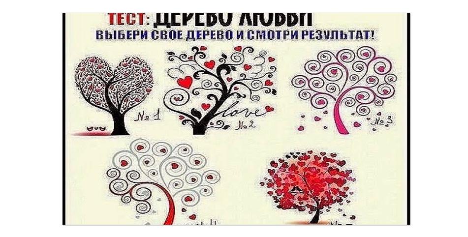 психологические тесты рисунок дерево вполне очевидную всем
