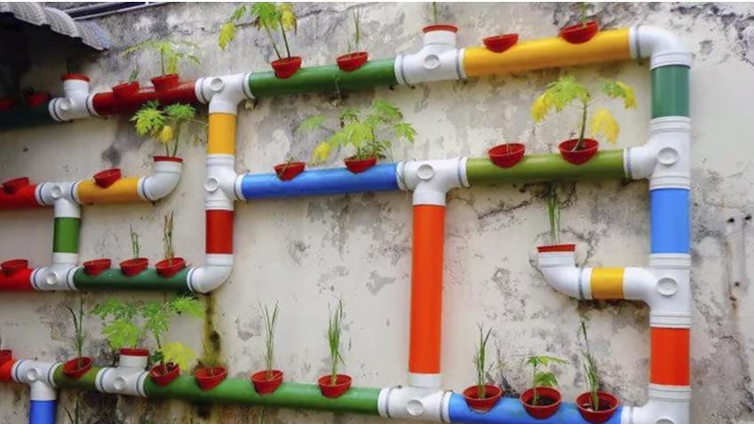 Что можно сделать из пластиковых труб