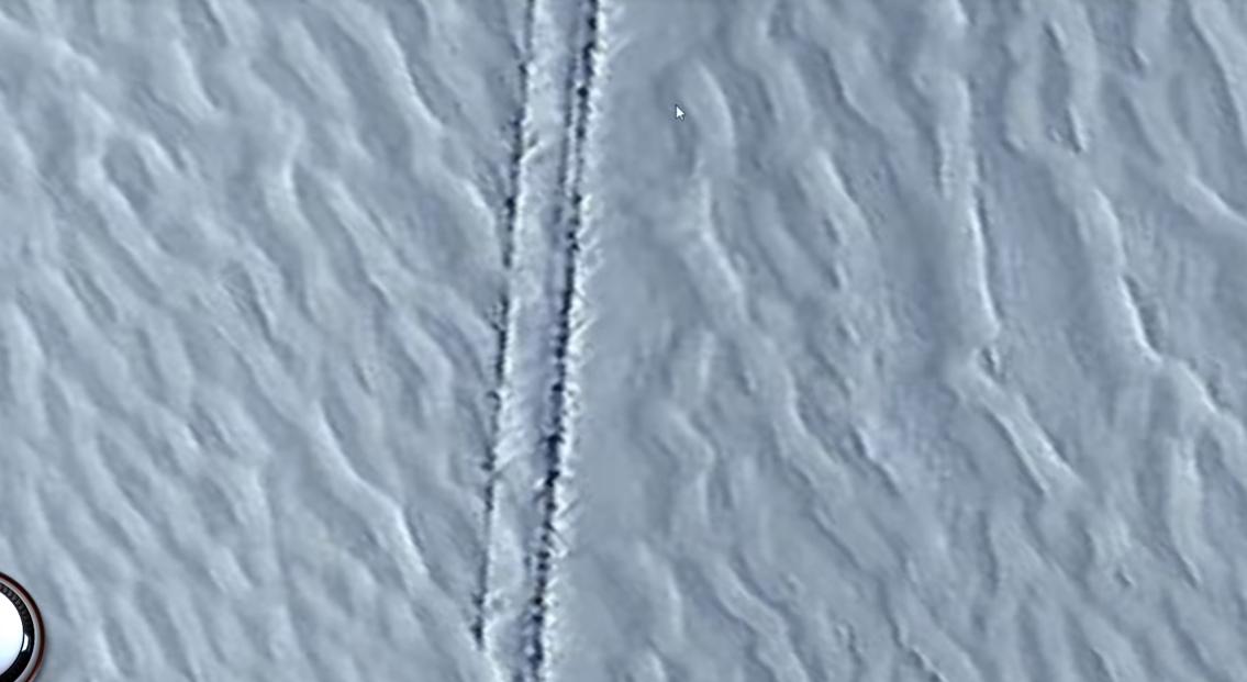 Загадочную находку в Антарктиде обсуждают во всем мире