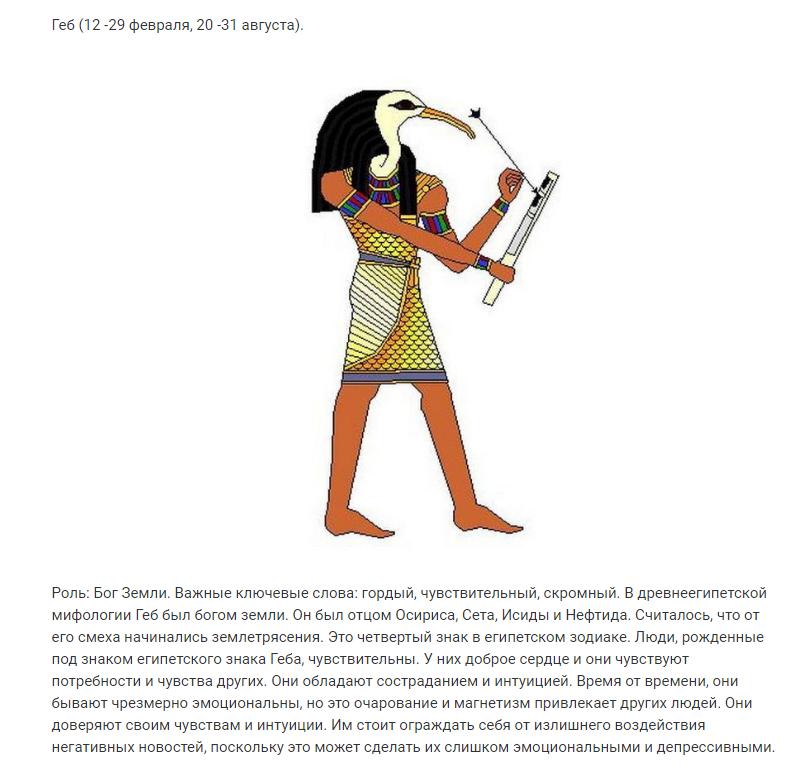 Самый точный Зодиак — Египетский! А кто по нему вы?